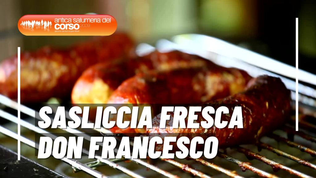 salsiccia fresca don francesco